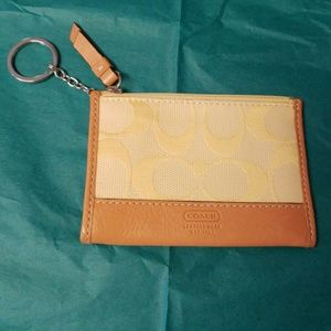 Coach keychain wallet
